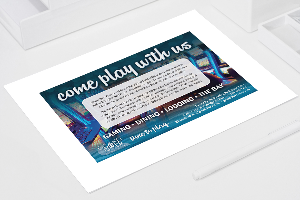 Grand River Casinou0027s Promotions Usually Last From One To Two Months. KK  BOLD Creates Cohesive Campaigns For Each Promotion To Be Used In Print, ...