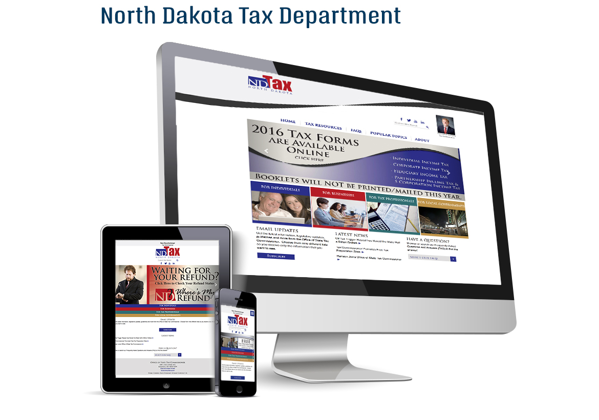 North Dakota Tax Department
